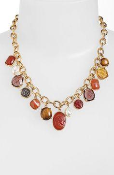 Main Image - Lauren Ralph Lauren Frontal Necklace