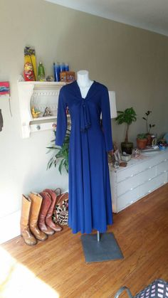 Check out this item in my Etsy shop https://www.etsy.com/listing/226422676/vintage-cobalt-blue-jp-allen-full-length