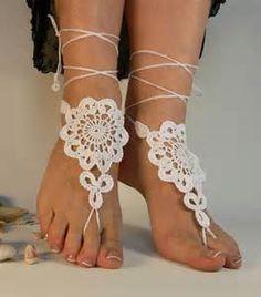 Barefoot Sandals Crochet Pattern Free - Bing Imágenes                                                                                                                                                      More