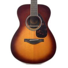 Yamaha LS6RBSHC Concert Acoustic-Electric Spruce/Rosewood Brown Sunburst