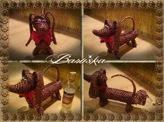 Pes -obal na fľašu