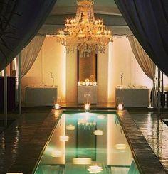 Spa room indoor pool