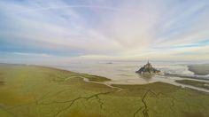 """Mont-Saint-Michel"", France, by Wanaiifilms"
