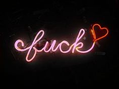 pink neon fuck with red heart sign signs signage art words Lizzie Hearts, Wallpapers En Hd, Neon Quotes, Pink Quotes, Neon Words, Neon Aesthetic, Fake People, Favorite Words, Favorite Things