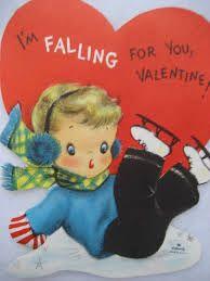 Image result for WISHING WELLS vintage valentine