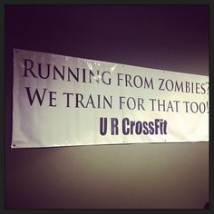 #crossfit #motivation #zombies