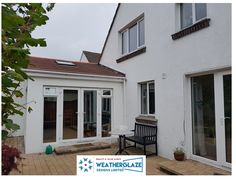 French Door with side panels can offer adequate ventilation to any room by adding top hung sashes as in the image. See more #frenchdoors at our website