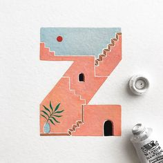 A series of small paintings exploring the alphabet using colors, patterns, and textures. Typography Drawing, Calligraphy Drawing, Typography Love, Typography Inspiration, Name Drawings, Cool Drawings, Doodle, Type Illustration, Alphabet Design