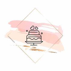 Instagram Symbols, Instagram Logo, Instagram Frame, Story Instagram, Instagram Story Template, Tumblr Wallpaper, Iphone Wallpaper, Fond Design, Cake Logo Design