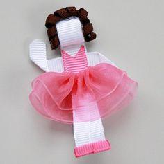 Ballerina Hair-Clip