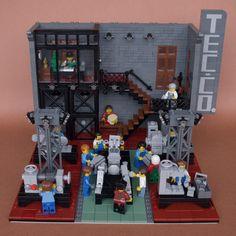 https://flic.kr/p/E8Wrbt | Tech Corporated | Robot factory based on 19th century workshops