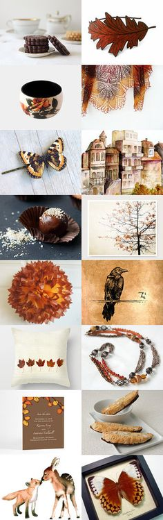 Autumn is Comming by Linda Karen on Etsy--Pinned+with+TreasuryPin.com