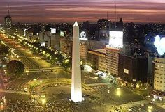 Night Time in Buenos Aries. Argentina is Calling!
