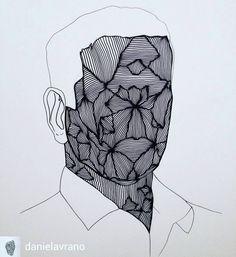 @Regrann_App from @danielavrano -  #portrait #drawing #illustration #artgallery #illustrazione #artwork #art #arte #artofvisuals #disegno #drawingoftheday #drawingart #illustratore #blackandwhite #artcurator #danielavrano #sketch #photoart #artista #sketchart #sketchbook #fubiz #sketchaday #artworld #ink #inkdrawing #artecontenporanea #designart #graphicart #artist