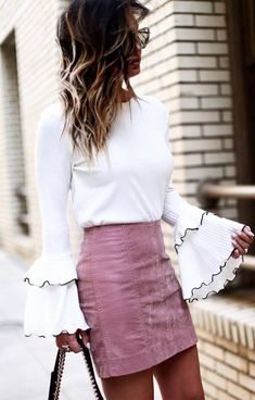 Super cute outfit - love this sexy but elegant style | Fashionable outfit suggestions for women who love clothes and style.