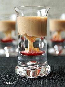 Małpi mózg (Archers, Baileys i Grenadina) Aperol Drinks, Alcoholic Drinks, Cocktails, Drinking Games, Irish Cream, Keto Diet For Beginners, Baileys, Glass Of Milk, Keto Recipes