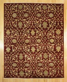 "Kaoud Oriental Rugs Burgundy Size 7' 11"" x 9' 10"" - Rectangle"