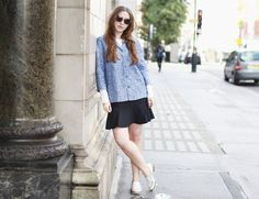 What ELLE Wears to London Fashion Week SS 14 - Day 3