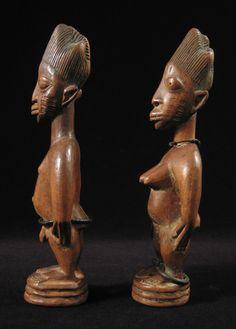 Yoruba Ere Ibeji (Twin Figure), Oyo - Oyo, Nigeria http://www.imodara.com/post/92078224459/nigeria-yoruba-ere-ibeji-twin-figure-oyo-oyo