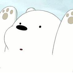 Ice Bear We Bare Bears, We Bear, Polar Bear Cartoon, We Bare Bears Wallpapers, Animated Icons, Bear Wallpaper, Image Manga, Cartoon Shows, Cute Bears