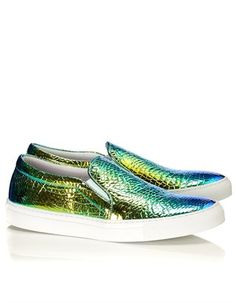 Green Vipera Nera Skate Shoes Joshua Sanders