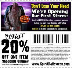 Promo Code For Spirit Halloween raymondmwangi Spirit Halloween 20 Off Coupon Costumes And Decorcations