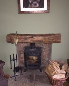 Solid Oak Fire Place Beam- handcrafted at Celtic Oak, Penclawdd, South Wales Fireplace Beam, Fire Surround, Range Cooker, Ceiling Beams, South Wales, Solid Oak, Shelving, Celtic, Home Appliances