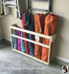 50 Brilliant Garage Storage Organization Ideas - BrowsyouRoom toolstorage Every. - Garage Storage 50 Brilliant Garage Storage Organization Ideas - BrowsyouRoom toolstorage Every. Easy Garage Storage, Garage Storage Solutions, Camping Storage, Diy Garage, Storage Hacks, Garage Organization, Tool Storage, Organization Ideas, Storage Ideas