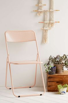 Folding Metal Chair - Urban Outfitters