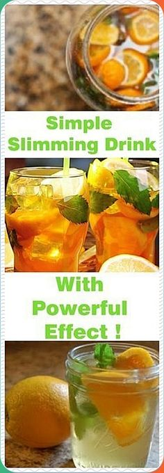 Use green tea, orange and some mint to prepare this drink which is ideal for those trying to lose weight and detox the body. This is the main reason why nutritionists recommend its consumption as a support for the overall optimal health. Healthy Smoothies, Healthy Drinks, Healthy Snacks, Healthy Detox, Healthy Mind, Simple Snacks, Diet Drinks, Healthy Eating, Food For Digestion