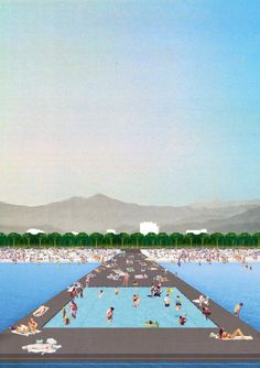 Dogma with Elia Zenghelis and Milan Ingegneria. Zeus - Project for Vlora Waterfront Promenade, Vlora, Albania, 2014