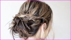 60 Creative Short Hair Updos, Have you ever struggled to learn some updos for short hair? With so many gorgeous updo ideas available online, the strong majority are for long hair. Short Hair Bun, Curly Hair Updo, Short Hair Styles Easy, Curly Hair Styles, Thin Hair, Second Day Hairstyles, Summer Hairstyles, Braided Hairstyles, Cool Hairstyles