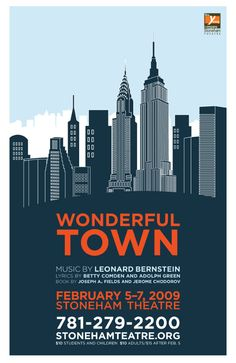 Theatre Posters by John Howrey, via Behance