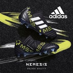 The all new Messi shoe from adidas. The adidas Messi Nemeziz! Get it here > http://www.soccerpro.com/adidas-Nemeziz/