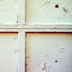 5x5 White minimal urbex fine art photography on cardstock (minimalist art, decay photography, urban decay, modern wall art)