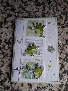 Great to stamp 'smile ' for a fun uplift card. - Great to stamp 'smile ' for a fun uplift card. Diy Birthday, Birthday Cards, Business Thank You Cards, Stamping Up Cards, Marianne Design, Animal Cards, Kids Cards, Baby Cards, Masculine Cards