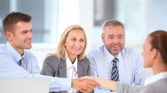 Group of business people having job interview with young woman. Hr Management, Resource Management, Short Courses, Human Resources, Image Now, Interview, Stock Photos, Learning