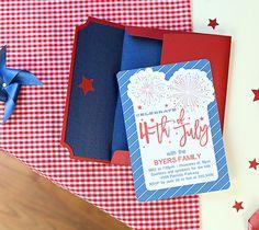 4th Of July Invitation & RSVP – Kim Byers
