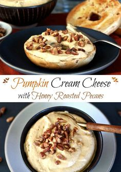 Pumpkin Cream Cheese. Cream cheese and favorite fall flavors whipped together. Enjoy any season of the year. Delicious served as a dip or a spread. Simply Sated