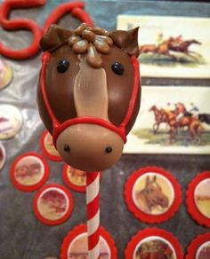 party at church hill downs. Horse Cake Pops, Farm Animal Party, Western Girl, Cupcake Cakes, Cupcakes, Summer Parties, Unicorn Party, Farm Animals, Cake Decorating