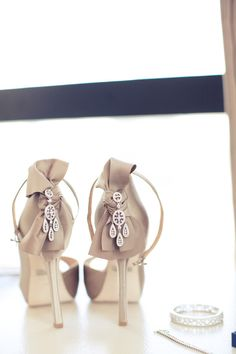 love these shoes, with the earrings off the back. genius.