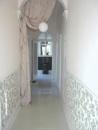 i want a curtain at the end of my hallway....