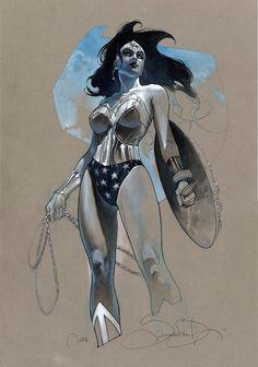 Wonder Woman by Simone Bianchi