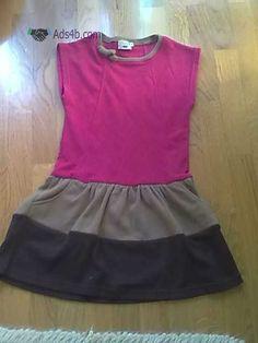 Vestido - GabrInês - PORTES GRÁTIS Vendo Vestido - GabrInês Fabricado em Portugal O vestido é de manga curta,tem 2 bolsos a frente e um laço na gola. 3 Cores: Cor-de-rosa, castanho claro e c...