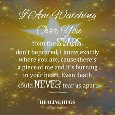Heaven -I am watching you from the stars
