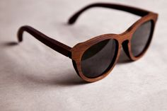 Funky wooden shades