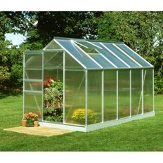 Utilizing a polycarbonate greenhouse provides the capability to improve the yard return, yet doing this while working in a minimal amount of space.