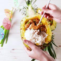Setting sail. #food #easyrecipe #Hawaiian #chicken #asian