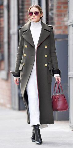 Fashion Women, Fashion Outfits, Fashion Trends, 30 Outfits, Fashion Pics, Fashion Clothes, Latest Fashion, Olivia Palermo Street Style, Olivia Palermo Winter Style