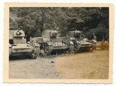 Foto polnische 7 TP Tanks Wehrmacht Beute Panzer Polen Polenfeldzug 1939 ... | eBay